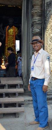 Angkor Guide Sopanha Private Tours: Angkor Wat Entrance