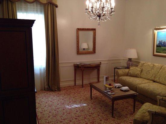 Alvear Palace Hotel : sala de la habitación
