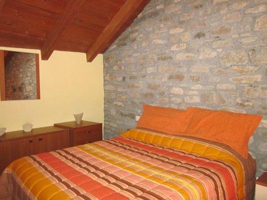Ferriere, Italie : Camera da letto soppalcata