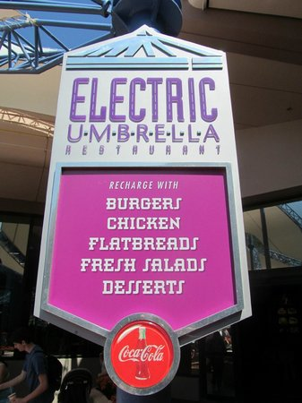Electric Umbrella: enseigne du resto