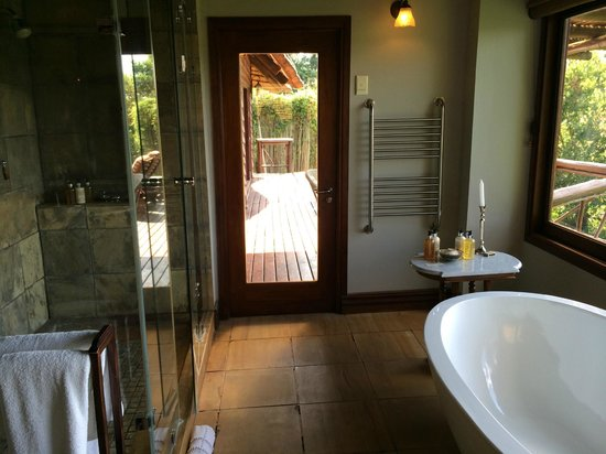 Lion Sands - Tinga Lodge: bathroom