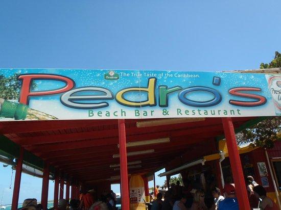 Pedro's Beach Bar & Restaurant : Front of Pedro's