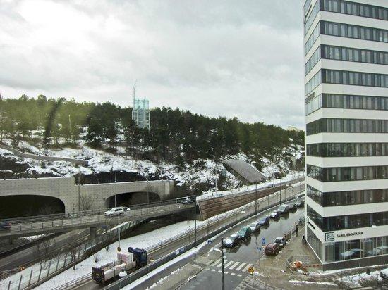 Park Inn by Radisson Stockholm Hammarby Sjostad: View from Room, Park Inn by Radisson, Stockholm Sweden