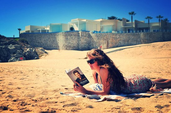Pueblo Bonito Sunset Beach: Best spot to read a book