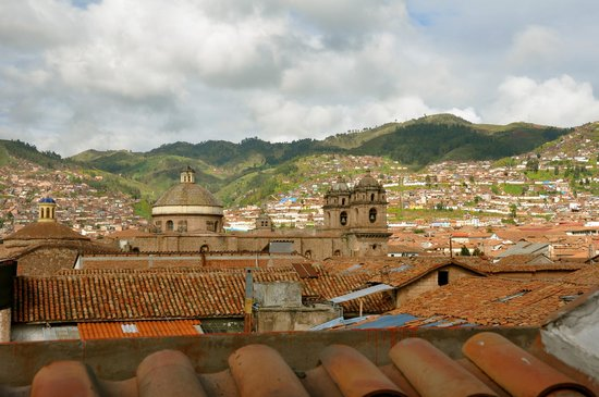 JW Marriott El Convento Cusco: View from our room from the 4th floor