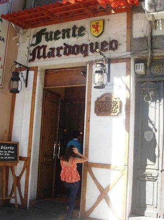 Fuente Mardoqueo: Entrance