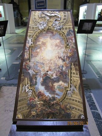 Chiesa del Gesù: espejo