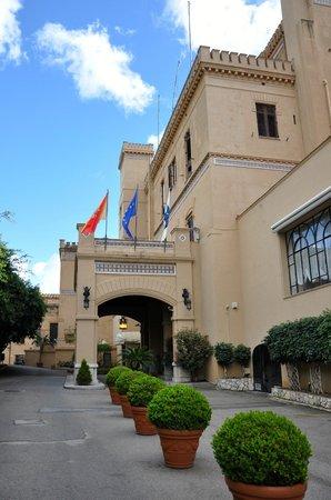 Grand Hotel Villa Igiea - MGallery by Sofitel : entrance to the hotel
