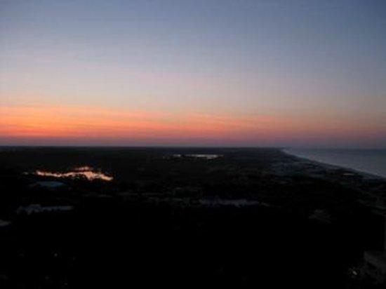 Hilton Sandestin Beach, Golf Resort & Spa: Beautiful Sunset