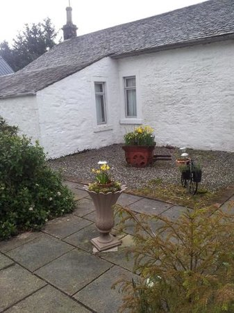 Shegarton Farm Cottages: outside Finlas Cottage