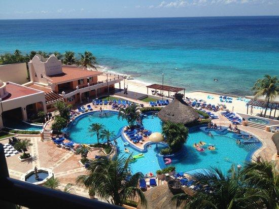 El Cozumeleno Beach Resort: From the room balcony