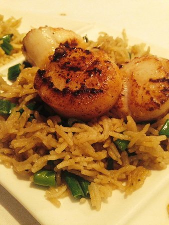 Cholanad: Spice Crusted Scallops