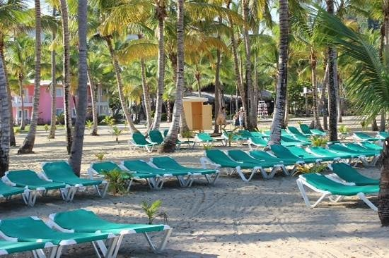 ClubHotel Riu Merengue: beach area