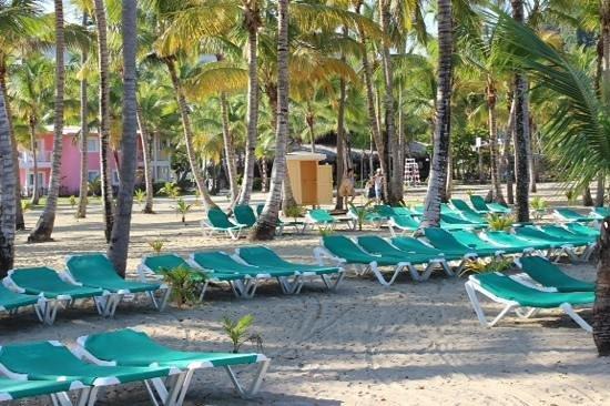 ClubHotel Riu Merengue: beach area