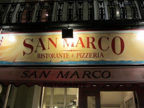 San Marco Ristorante : San Marco Italian Restaurant near Paddington