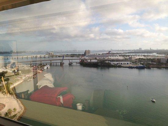 InterContinental Miami : Porto de Miami - vista do nosso apto