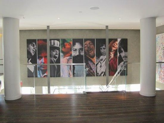 Andaz West Hollywood: More rock 'n roll history in the lobby