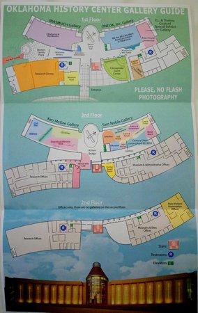 Oklahoma History Center : Map