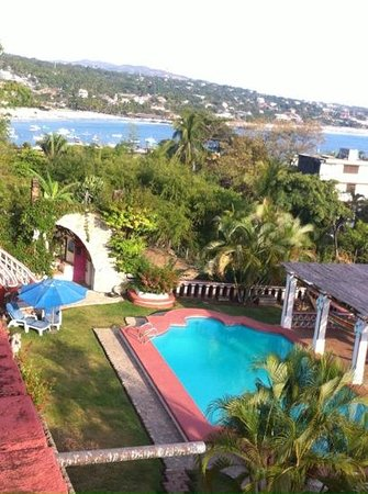 Hotel Paraiso Escondido: View from top floor