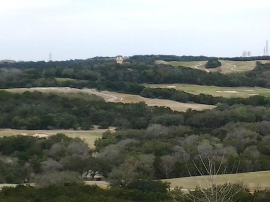 La Cantera Resort & Spa: Looking out of the window!