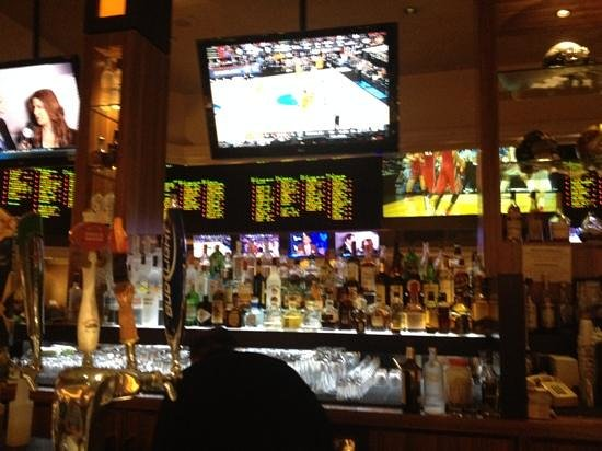 Monte Carlo Resort & Casino : score bar...sorry abiut the blurry