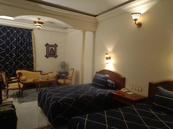 Zalagh Parc Palace: quarto
