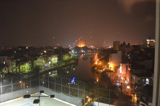 The Hanoi Club Hotel & Lake Palais Residences: View from room