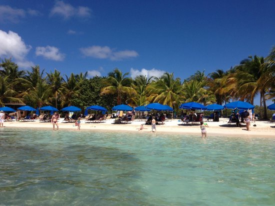 Le Galion Beach from the water