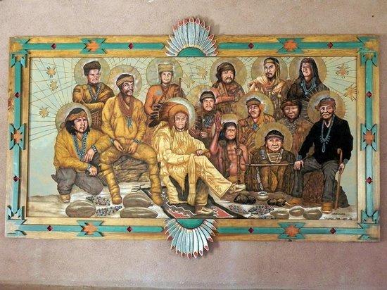 El Santuario de Chimayo: Painting