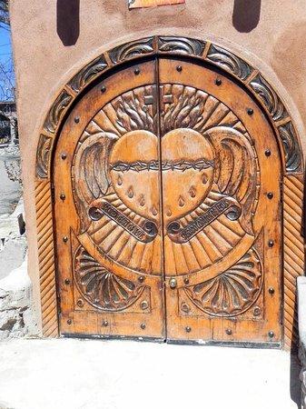 El Santuario de Chimayo: Carved Doors