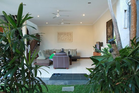 Villa Echo Beach : Lounge area