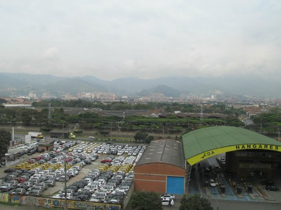 Ibis Medellin: View West from 6th floor hallway