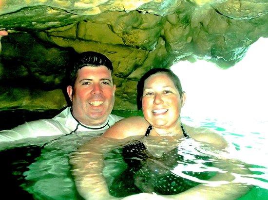 Blue Hole: Inside the falls