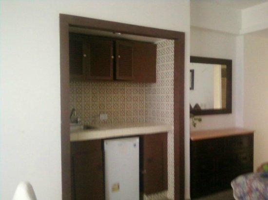 Girasol Condo Hotel : cocineta