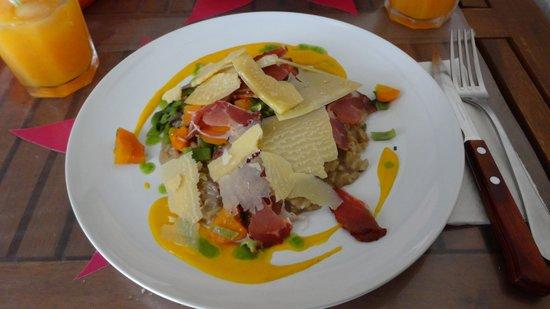 WASA Ethnik Food: Prato Principal. Risoto... sensacional
