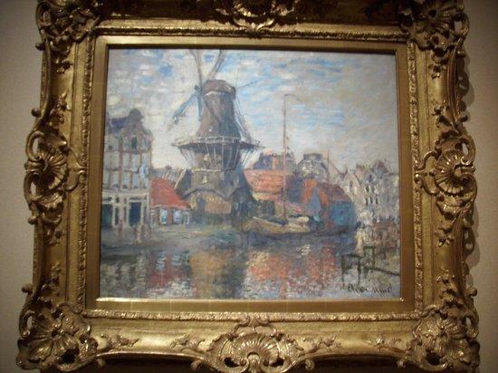 Museum of Fine Arts, Houston : Quadro de um pintor francês.