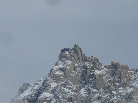 Chalet De Pascaline : Vue sur l'Aiguille du Midi