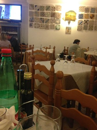 Da Maria Trattoria Pizzeria: Dining area
