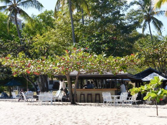 The Beach Club at Calabash: A view from the beach