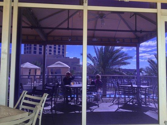 Hard Rock Cafe: Nice view