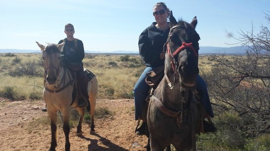 Cowboy Way Adventures: Dave and Shannon on the hill