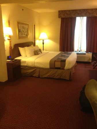 Comfort Inn & Suites: Room 202 Bed