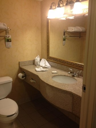 Wingate by Wyndham D'Iberville/Biloxi: Room 202 Bathroom