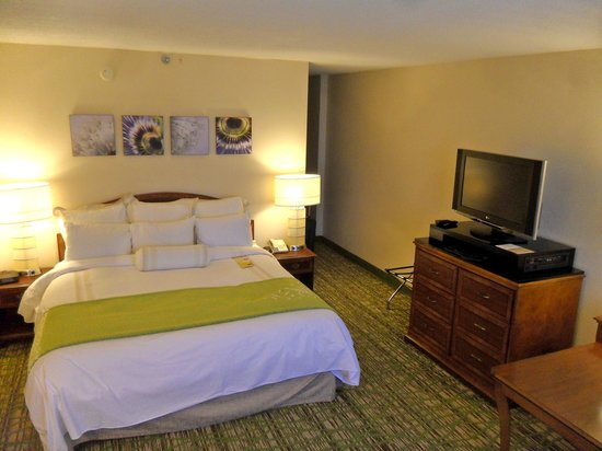 Huntsville Marriott : King bedroom