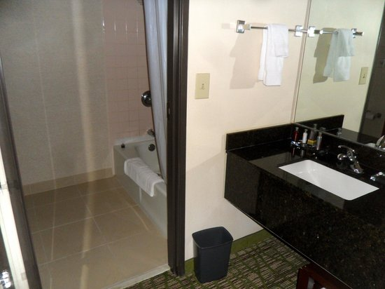 Huntsville Marriott : Bathroom area