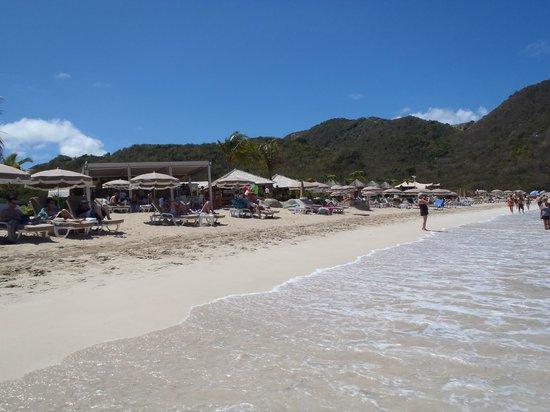 Anse Marcel Beach opposite end of Radisson