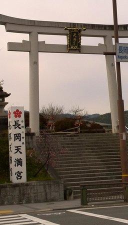 Nagaoka Tenmangu: 大きな鳥居があります