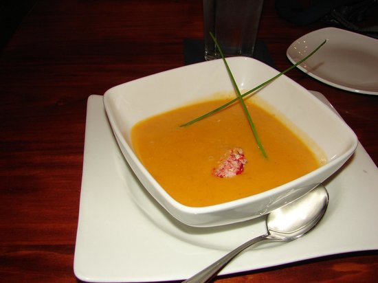 Grille 29: lobster bisque