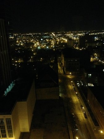 Waldorf Astoria Chicago: view from the balcony #2