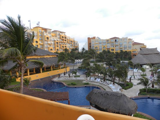 Fiesta Americana Condesa Cancun All Inclusive: View from our balcony